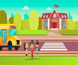 어린이보호구역 내 통학로에 과속경보음과 적신호등 설치를 제안합니다 대표이미지